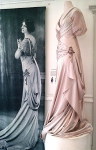 A copy of one of Margaine-Lacroix's clinging, draped styles.