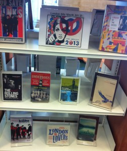 London 60s Week book display