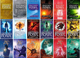 Artemis Fowl series  by Eoin Colfer