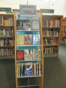 Crime on display at North Kensington Library
