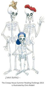 Skeleton Family Robinson, Summer Reading Challenge 2013