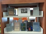 Book display in tribute to Seamus Heaney