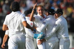 England winning the Ashes