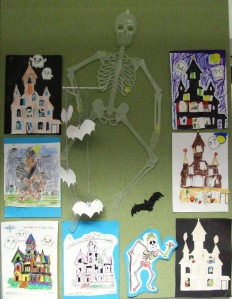 Creepy crafts on display at North Kensington Library