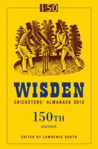 Wisden Cricketers' Almanack 150th edition