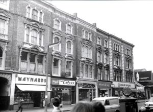 141-143 Ladbroke Grove in 1969