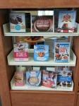 Great British Bake off book display