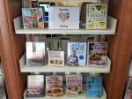 Healthy eating book display