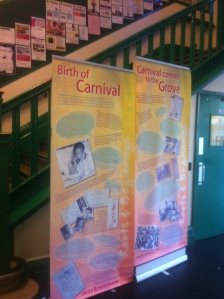 Notting Hill Carnival exhibition panels