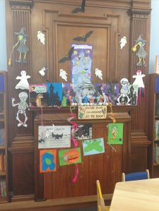 Creepy Summer Reading Challenge crafts at Chelsea!