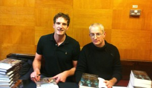 Dan Snow and Marc Morris - signing books!