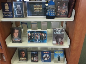 Dr Who display at Kensington Central Library