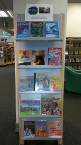 Michael Morpurgo display at Brompton Library