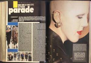 Streetstyle, Vogue Sept 1983