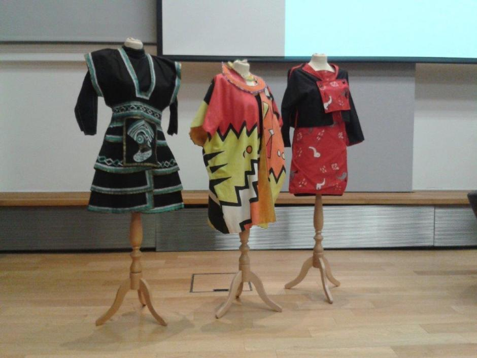 Toyah Wilcox's dresses. Photo by Debby Wale
