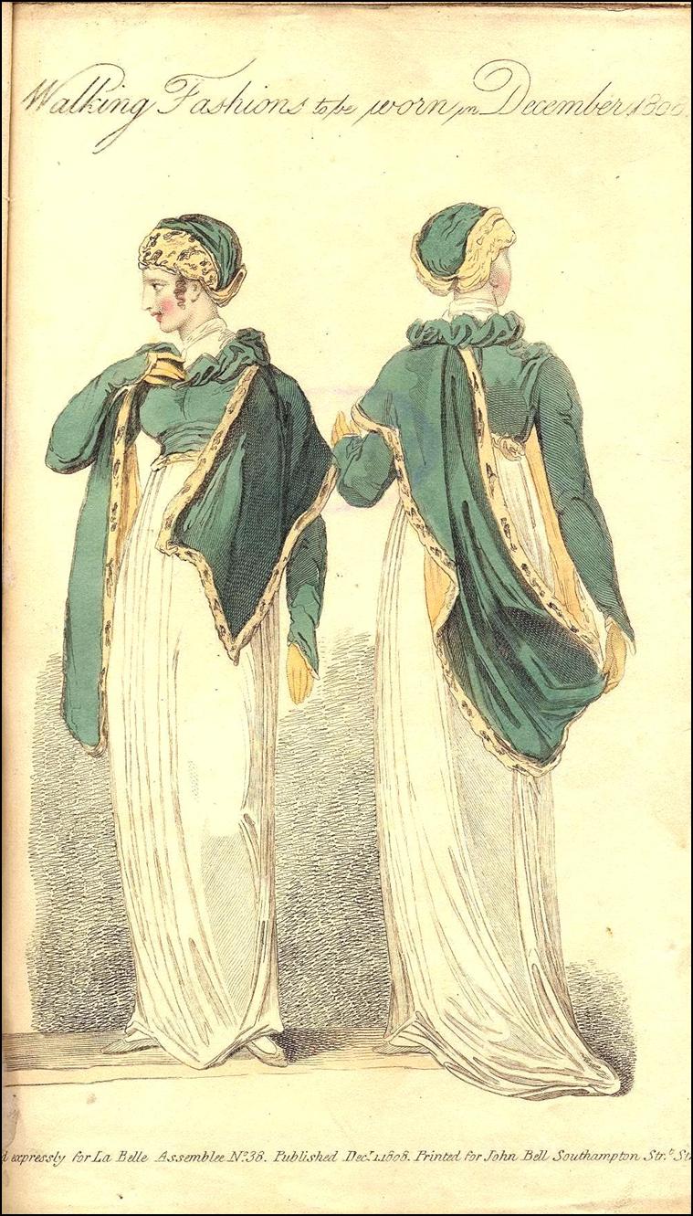 La Belle Assemblee, December 1808