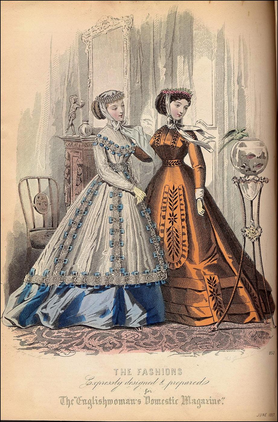 English Woman's Domestic Magazine, June 1867.