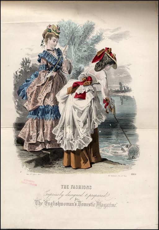 English Woman's Domestic magazine 1872