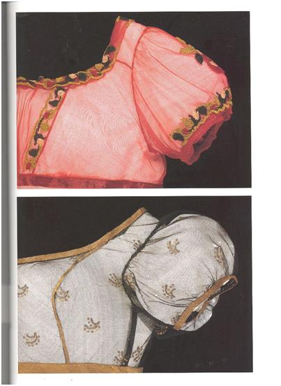 Evening Dress made of machine-made silk bobbin net, hand embroidered.  British, about 1810