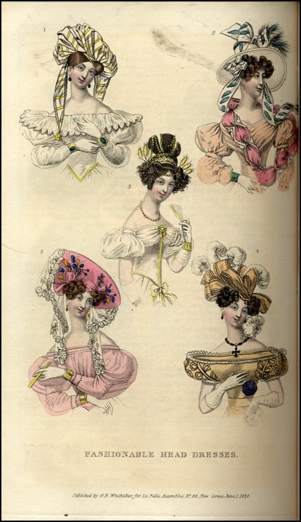 La Belle Assemblee 1828.