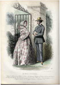 Les Modes Parisiennes 1852
