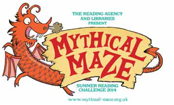 Mythical Maze Summer Reading Challenge