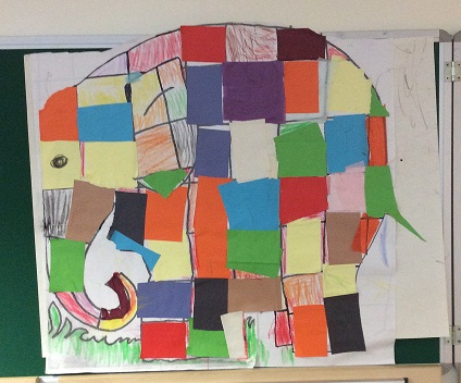 Elmer in full colour!