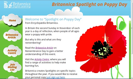 Spotlight on Poppy Day