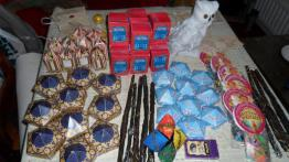 Craft Stuff - Harry Potter Book Night at North Kensington Library, February 2015