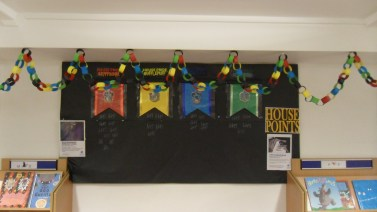 House Points - Harry Potter Book Night at North Kensington Library, February 2015