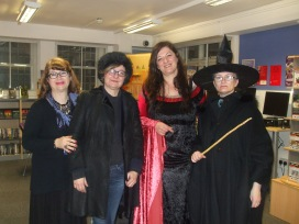 Klaudija Cermak - Harry Potter Book Night at North Kensington Library, February 2015