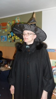 Lynn McGonagall - Harry Potter Book Night at North Kensington Library, February 2015