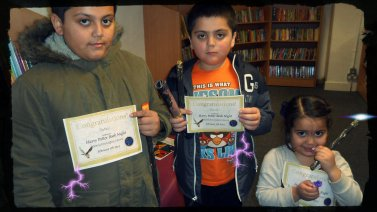 Magic - Harry Potter Book Night at North Kensington Library, February 2015