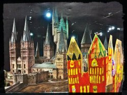 Our Hogwarts Castle - Harry Potter Book Night at North Kensington Library, February 2015