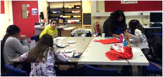 Chatterbooks session at Brompton Library, March 2015