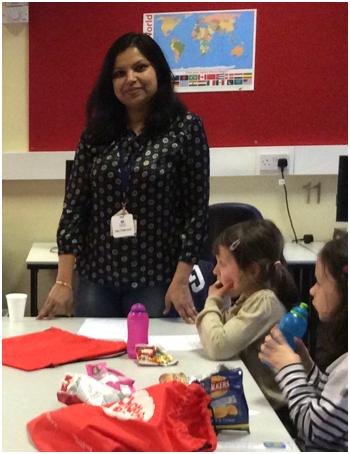 Babita's last Chatterbooks session at Brompton Library, March 2015