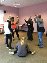 African Dance session at Bromptonlibrary