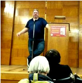 Ben Aaronovitch at Central Library