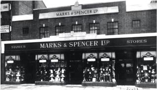 Picture of Marks & Spencer taken 1931