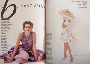 A fashion shoot from May 1988