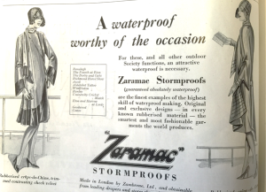 Stormproof... taken from Vogue May 1926 Ed.