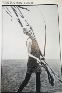 Twiggy from the May 1967 edition of Vogue