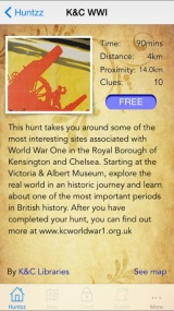 Kensington and Chelsea's Great War: Online GuidedTour