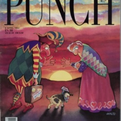 Punch final cover, 1992