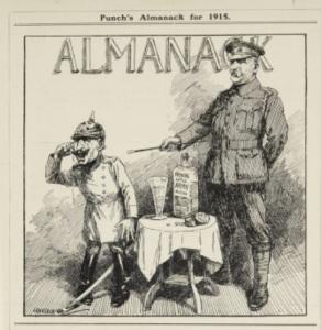 Cartoon taken from Punch Almanack 1915