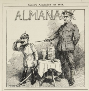 Cartoon taken from Punch Almanack 1915