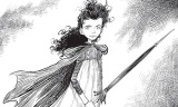 Chris Riddell Display at Brompton Library