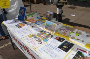 The library stall