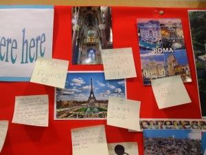 Rome, Paris