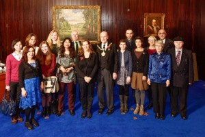 Group photo of volunteers
